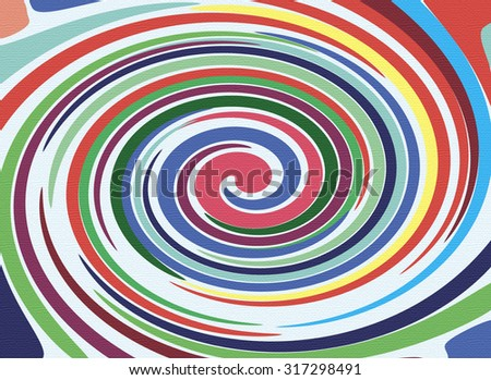 Bright abstract spiral texture for your design or background.
