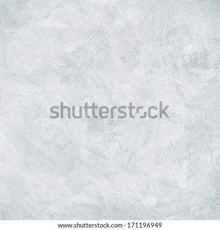bright blue background frozen water or the glass texture - stock photo