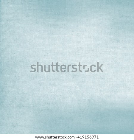 bright blue canvas fabric texture background - stock photo