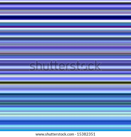 Bright blue colors horizontal stripes abstract background. - stock photo