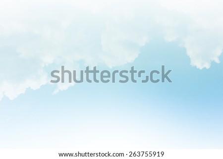 Bright blue skies and bright sun. - stock photo