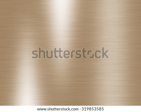 Bright brown background abstract with brushed reflection