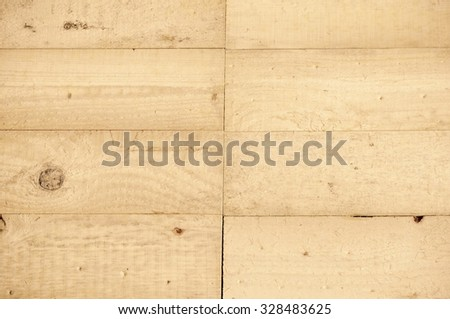 Bright brown wooden texture. Background of natural wooden boards.