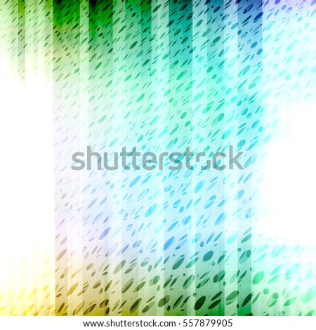 Bright Colorful Halftone Texture Glass Backdrop - With Shades of Green Teal Yellow and Purple - High resolution illustration for graphic design or background use.