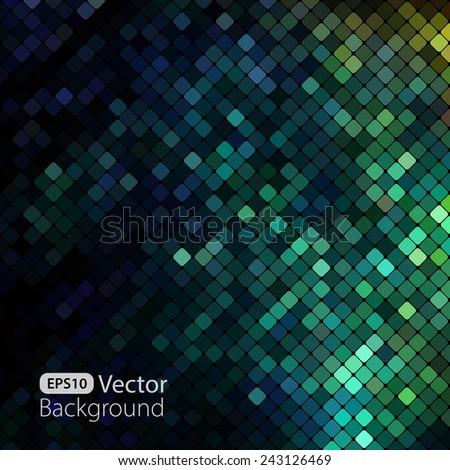 Bright colorful mosaic background.  illustration - stock photo