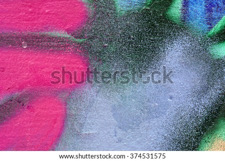Bright colorful multicolored background, painted with watercolor paint. close-up of paint spots , unfocused