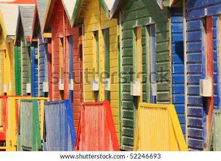 Bright Colours - stock photo