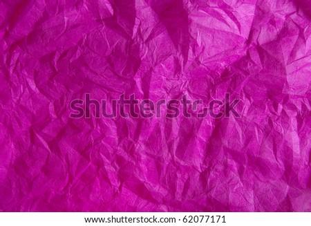 Bright crimson background - crumpled paper. - stock photo