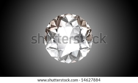Bright Diamond - 3D Illustration