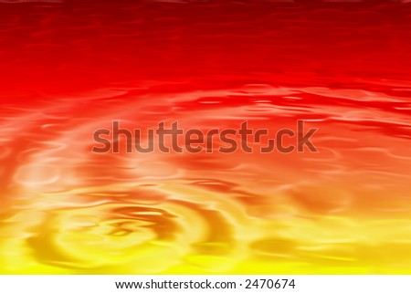 Bright digital  background with fruit juice texture and lots of room for images and text . - stock photo
