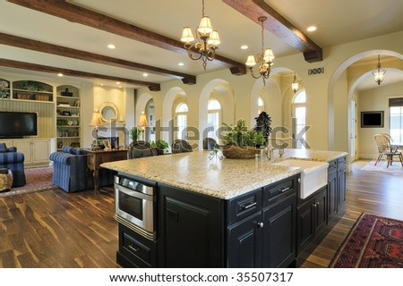 Bright Elegant Kitchen