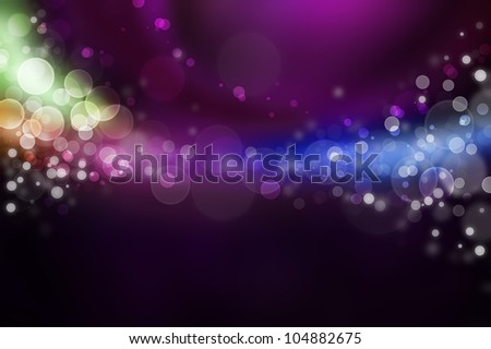 Bright energy fountain modern abstract background - stock photo