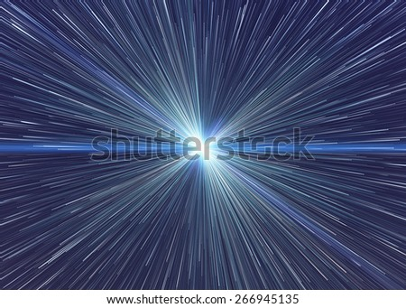 bright explosion fire speed burst backgrounds in space - stock photo