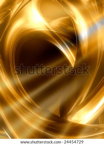 Bright gold abstract background - stock photo