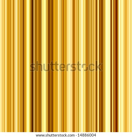 Bright gold and yellow colors vertical stripes abstract background. - stock photo