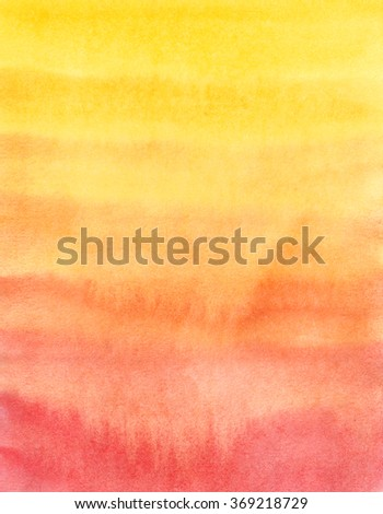 Bright gradient. Watercolor background. Abstract texture. - stock photo