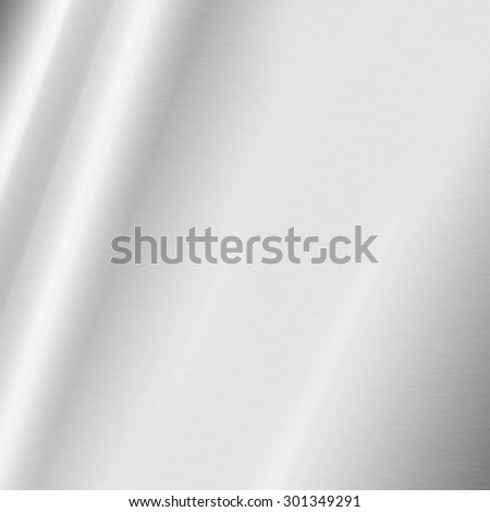 bright gray and white abstract background silver metal texture - stock photo