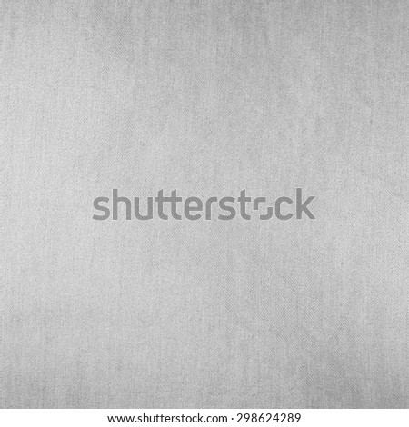 bright gray background linen fabric texture pattern - stock photo