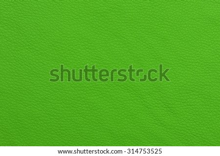 Bright Green Patterned Artificial Leather Texture  - stock photo