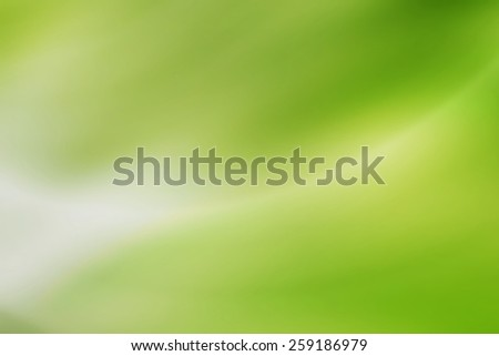 bright green smooth with light abstract background - stock photo