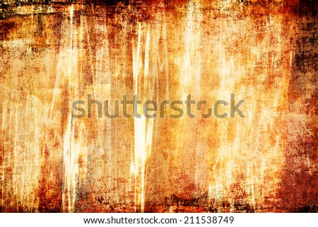 Bright grunge abstract background design. Horizontal composition. - stock photo