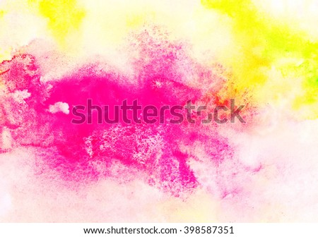 Bright grunge abstract background with color spots. Abstract painting pattern. Bright texture for creative graphic design.  - stock photo