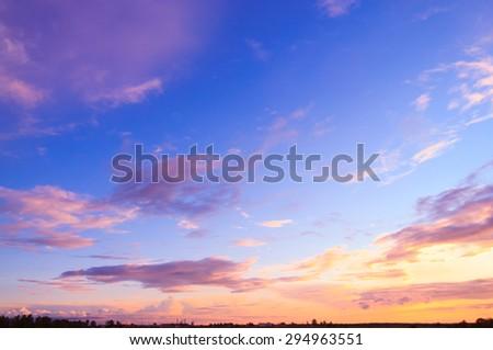 Bright Horizon Bay View  - stock photo