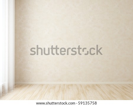 Bright interior - stock photo