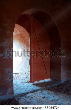 Open Prison Door Stock Images Royalty Free Images