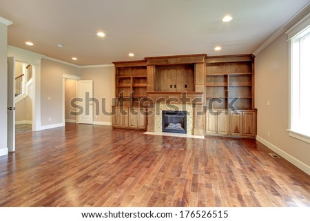 Hardwood stock photos images pictures shutterstock - Modernbedroombathroom house plans ...