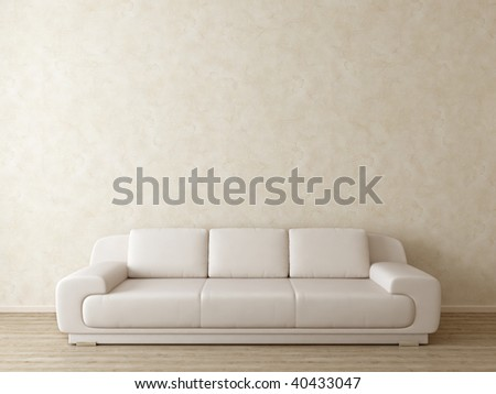 bright modern interior - more variations of this picture in my portfolio - stock photo