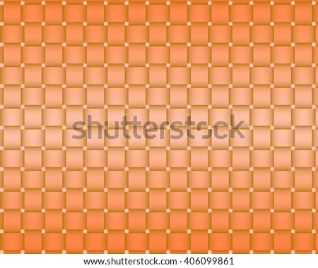 Bright orange background netting raster graphic image