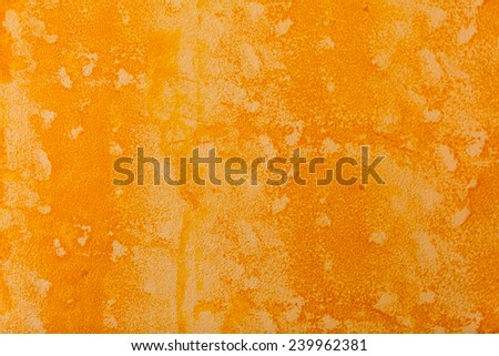 bright orange wall texture and background