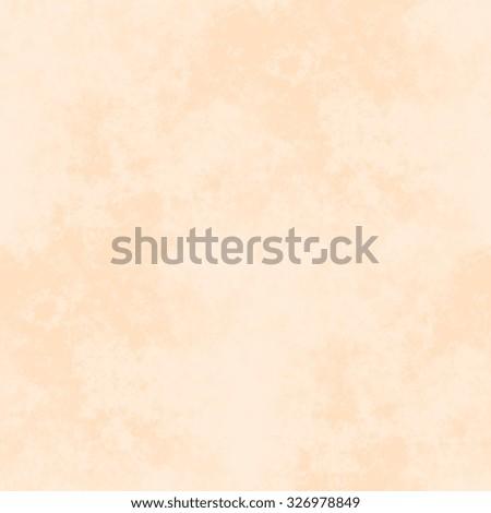 bright orange watercolor background - seamless paper texture - stock photo