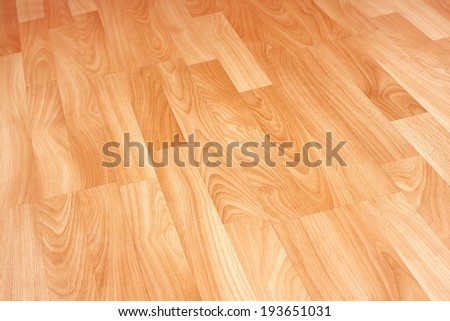 Bright Parquet - stock photo