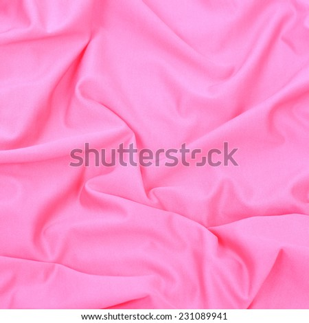 bright pink textile background closeup