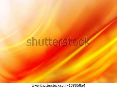 Bright red background - stock photo