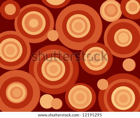 Bright Retro Circles