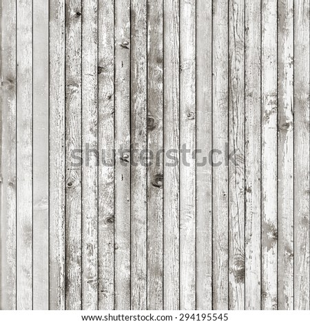 Bright seamless wood planks texture - stock photo