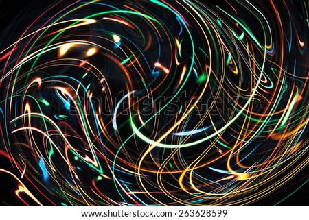 Bright shining fiery abstract multicolored background  - stock photo