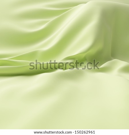 Bright silk on background. - stock photo