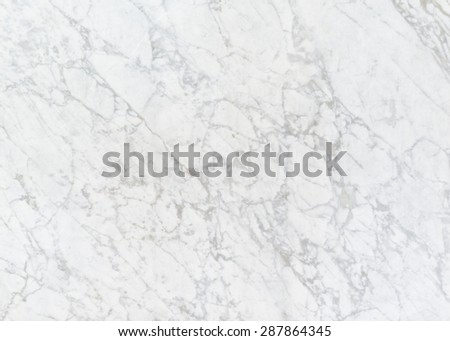 Bright smooth white marble texture background for decorative wall - stock photo
