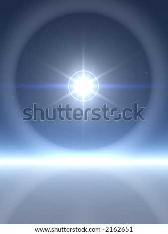 Bright Star with Rings
