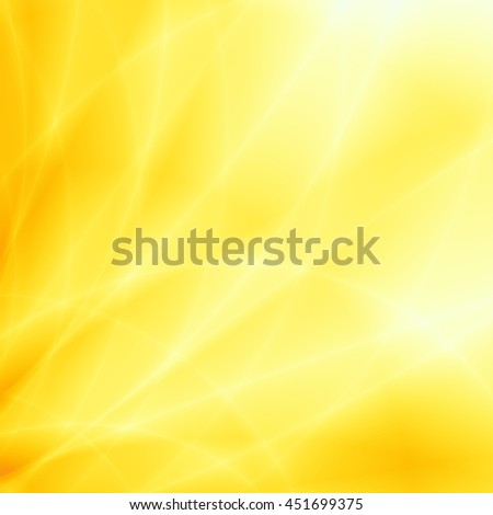 Bright sun ray abstract summer yellow background - stock photo