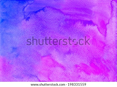 Bright violet watercolor background