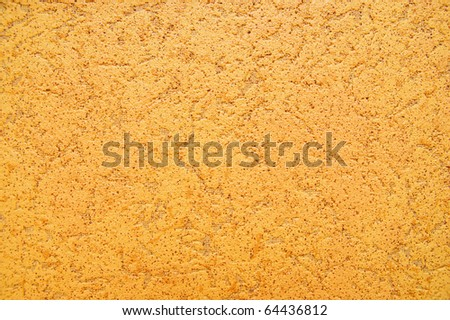 bright warm yellow wall background