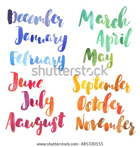 stock-photo-bright-watercolor-months-of-