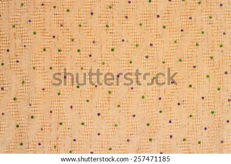 bright wrinkled silk textile