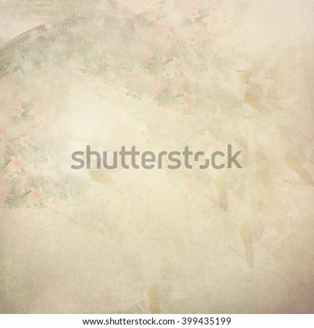bright yellow butterflies flowers pattern - stock photo