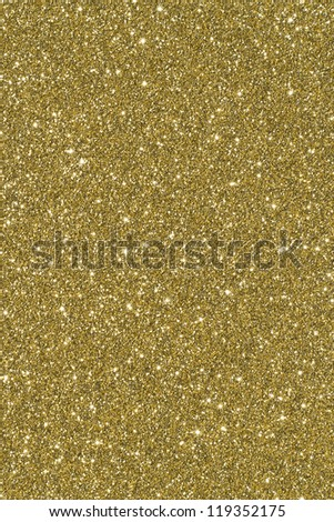 Brightly lit sparkly gold background - stock photo
